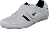 Lacoste - Protected Cr Wht/Dk Blu