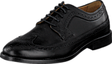 Sebago - Collier Wing Tip Black Leather
