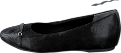 Rockport - Total Motion Layer Captoe Black Sparkle Suede