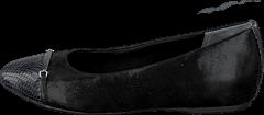 Rockport - Total Motion Layer Captoe Black Sparkle Suede