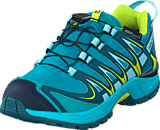 Salomon - XA PRO 3D CSWP J Deep Peacock Blue/Ceramic/Lime