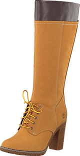 Timberland - Glancy Tall Lace Wit CA11S7 Yellow