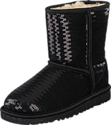 UGG - Cl. Short Sparkle Black