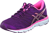 Asics - Gel Zaraca 4 Purple/Silver/Flamingo