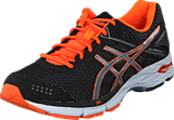 Asics - Gel Phoenix 7 Black/Silver/Hot Orange