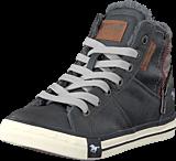 Mustang - 5024602 Jr High Top Sneaker Graphite