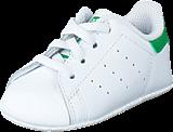 adidas Originals - Stan Smith Crib Ftwr White/Green