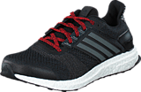 adidas Sport Performance - Ultra Boost St M Core Black/Iron Met./Vivid Red