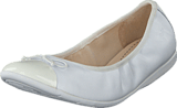 Clarks - Dance Puff Jnr White
