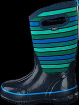 Bogs - Classic Stripes Kids Dark Blue Multi