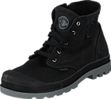 Palladium - Pampa Hi Zipper Kids 53196-097 Black