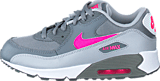Nike - Nike Air Max 90 Mesh (Ps) Cl Grey/Hypr Pnk-Wlf Gry-White