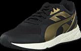 Puma - 698 Ignite Metallic Wn's Black-Metallic Gold-White