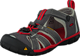 Keen - Seacamp Ii Cnx-Kids Magnet/Racing Red