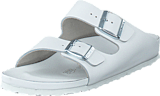 Birkenstock - Monterey Slim Natural Leather White