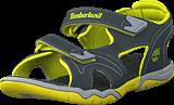 Timberland - Adventure Seeker 2 Strap Jr Dark Grey/Green