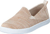 Toms - Avlon Slip-On Jr Natural Slubby Linen