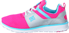 DC Shoes - Heathrow Pink with Silver
