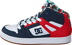 DC Shoes - Rebound SE Black/ Red Print