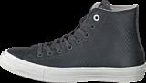 Converse - CTAS II Mesh Backed Leather-Hi Almost Black /Parchment/ Gum