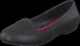Crocs - Crocs Eve Sparkle Flat K Black