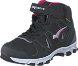 Bagheera - Nova Waterproof Black/Cerise