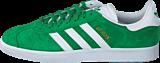 adidas Originals - Gazelle Green/White/Gold Met.