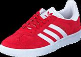 adidas Originals - Gazelle Power Red/White/Gold Met