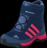 adidas Sport Performance - Cw Adisnow Cf Cp K Collegiate Navy/Pink/Tech Ink