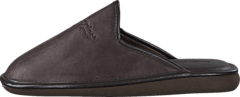 Hush Puppies - Leather Slipper BROWN