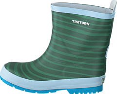 Tretorn - Sticky Stripes Soft Green
