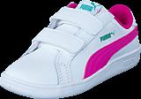 Puma - Smash Fun L V Kids 011 Wht/Pink