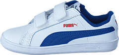 Puma - Smash Fun L V Kids 012 Wht/Blue