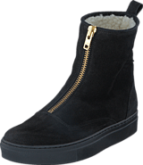 Johnny Bulls - Ancle Boot Black Suede