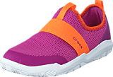 Crocs - Swiftwater Easy-on Shoe K Party Pink/Tangerine