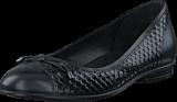 Ecco - 265503 Touch Ballerina Black/ Black
