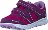 Viking - Hel II Plum/Dark Pink