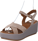 Pieces - Pslama Suede Sandal Moonbeam