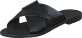 Pieces - Pslucca Leather Sandal Black