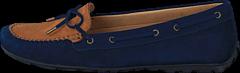 Sebago - Harper Tie Navy/ Tan Nubuck