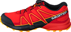Salomon - SPEEDCROSS J Fiery Red/Black/Bright Marigol