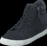 Esprit - Star Wedge Boots Black