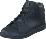adidas Originals - Stan Smith Mid C Core Black/Core Black/Core Bla