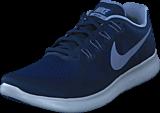 Nike - Free Rn 2017 Binary Blue/Dk Sky Blue Grey