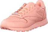 Reebok Classic - Cl Lthr L Grit-Peach Twist/Sleek Met