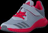 adidas Sport Performance - Fortarun El K Grey Two F17/Grey Three F17/En