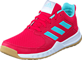 adidas Sport Performance - Fortagym K Energy Pink F17/Energy Aqua F1
