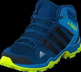 adidas Sport Performance - Terrex Ax2R Mid Cp K Blue Night F17/Core Black/Semi