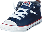 Converse - All Star Street Ltr Fleece Mid Midnight Navy/Terra Red/Egret