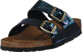 Birkenstock - Arizona Regular Birkoflor Shiny Snake Multi